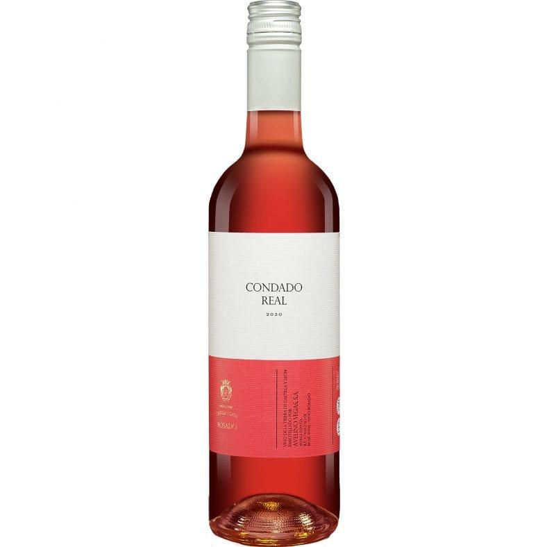 Condado Real Rosado 2020  0.75L 13% Vol. Roséwein Trocken aus Spanien bei Wein & Vinos