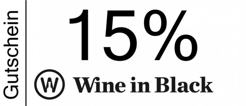 Wine in Black Gutschein