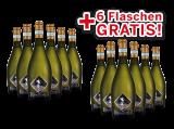 Vorteilspaket 12 für 6 Viticoltori Ponte Prosecco Frizzante Selezione del Re bei ebrosia