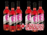 Vorteilspaket 6 für 3 Casa Girelli Primitivo Rosato Selezione del Re7,99€ pro l