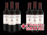 Vorteilspaket 6 für 3 Tempranillo Marqués de Campo Real7,26€ pro l