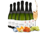 Probierpaket 6 Flaschen Cava Cossetània Brut Reserva8,89€ pro l