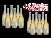 Vorteilspaket 12 für 6 Lergenmüller Weißburgunder Minerva / TEVERA8,89€ pro l