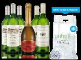 Probierpaket Bordeaux Weißweine inkl. Crémant und gratis Cooling Bag8,89€ pro l