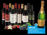 ebrosia-Festtagsweinpaket 2018 und 1 Flasche Bouvet Ladubay Crémant gratis9,33€ pro l