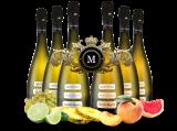 Königliches Duett mit je 3 Flaschen Medici Ermete Quintessenza Spumante bei ebrosia