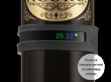 Vacu Vin Snap Flaschenthermometer grau