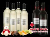 Vorteilspaket Minerva 4 Flaschen Weißer Winzerglühwein mit 2 Flaschen gratis in Rot5,00€ pro l