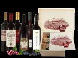 Rotwein Wein-Genussreise mit 6 Flaschen in Holzkiste11,76€ pro l