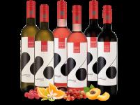 Kennenlernpaket Weingut Bickel-Stumpf 6 Fl. TWENTYSIX weiß, rosé & rot12,22€ pro l