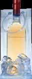 Flaschenkühler Ice.bag transparent für 1 Flasche