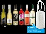 Sparpaket mit 6 Flaschen Weiß- & Roséweinen mit gratis Kühltasche8,89€ pro l