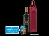 Präsent Rotwein & Schokoladen-Überraschung bei ebrosia