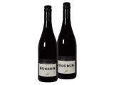 2er-Paket Weinhaus Büchin – Spätburgunder QbA trocken – Baden Rotwein aus Deutschland 2016 trocken