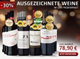"""12er Probierpaket """"Ausgezeichnete Weine"""" für nur 78,90€ statt 112,95€ Sie sparen 30%!"""
