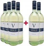 Volz & Sohn 2019 4+2 Paket  Scheurebe lieblich 1,0 L Weingut Volz & Sohn – Pfalz – bei WirWinzer