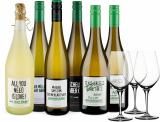 Wine in Black 'Power-Bauer-Brüder'-Set + 3 Gratis-Spiegelau-Gläser bei Wine in Black