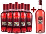 9er+Gratis-Magnum-Set Tenuta Ulisse Merlot Rosato 2020 bei Wine in Black