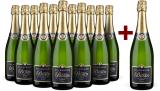 11+1-Set Champagne Jacques Busin 'Tradition' Verzenay Grand Cru Brut NV bei Wine in Black