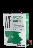 Take off Cuvée Weiß Bag-in-Box – 3,0 L – 2018 – MEJS – Die Weinspezialisten – Weißwein