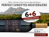 2013 Glen Carlou Barrel Select in der 6+6 Aktion ( 6 Flaschen Gratis!)
