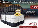 2015 A6mani LIFILI Salice Salentino im 12er für nur 59,40€ statt 95,40€