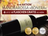 """2015 Mandrarossa """"Bonera"""" Rosso in der 6+6 Aktion*!"""