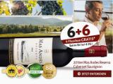 2015 Mas Andes Reserva Cabernet Sauvignon 6 + 6 Flaschen Gratis dazu!