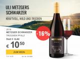 2016 Metzger Schwarzer für nur 10,50€ statt 12,50€ mit -16%