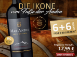 2017 Mas Andes Gran Reserva Valle Central in der 6+6 Aktion!*