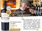 2017 MontGras Quatro Colchagua Valley für nur 5,80€ statt 9,80€ mit -41%