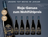 Palador Reserva 2012 – 6er Monatsangebot 4.5L 14% Vol. Trocken Weinpaket aus Spanien