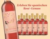 Lumia Rosado 2018 – 12er E*Special 9L 13% Vol. Trocken Weinpaket aus Spanien