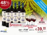Probierpaket 6 Fl. Javier Rodriguez Rioja Lacrimus und 4 Gläser gratis für 39,99€ statt 77,94€