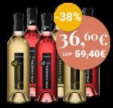 6er-Paket Polvanera Weiß & Rosé Bioweine – 4.5 L – Biowein – Cantine Polvanera bei VINZERY