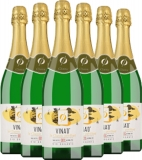 6er Aktion Vina'0° le Classic Pétillant Organic   – Weinpakete, Belgien, 4.5000 l bei Belvini