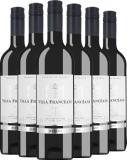 6er Aktion Villa Francéane Merlot   – Rotwein, Frankreich, trocken, 4.5000 l bei Belvini