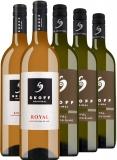 5 Flaschen Skoff Original Sauvignon Blanc Royal Vertikale , ,  …, Österreich, trocken, 3.7500 l bei Belvini