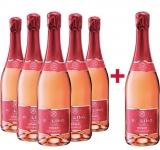 Rilling Sekt  5+1 Paket Rilling Rosé Sekt halbtrocken Rilling Sekt – Württemberg – bei WirWinzer