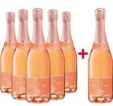 Rilling Sekt  5+1 Paket Rosé Sekt trocken Rilling Sekt – Württemberg – bei WirWinzer