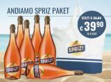 Andiamo Spritz Paket 6 Fl. u. Strandtasche für nur 35,90€ statt 56,84€ mit -37%