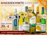 Ausgezeichnete Weißweine für genussvolle Stunden 6er Probierpaket für nur 39,00€ statt 52,10€