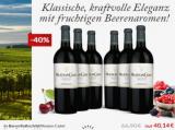 Baron Rothschild Mouton Cadet Rouge Bordeaux 6er für nur 40,14€ statt 66,90€