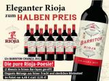 Barriton Crianza 2014 12 Flaschen für nur79,90 € statt155,40 €