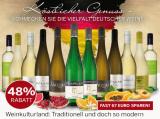 Best of Deutschland Weißwein Entdeckerpaket für nur 69,99€ statt 136,68€