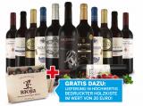 Best of Rioja Rotwein Entdeckerpaket in edler Rioja-Holzkiste jetzt 79,90€ statt 161,80€