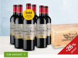 Château La Platus Bordeaux 2015 6er-Holzkiste für nur 39,95€ statt 53,70€ mit -26%