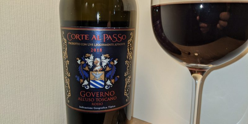 Wein-Tasting: Corte al Passo 'Governo All'Uso Toscano' 2018 –  Casa Vinicola Nistri