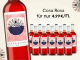 Cosa Rosa 2017 – 12 Flaschen für nur 59,90€ statt 107,40€ mit -44%
