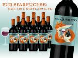 El Zorrito 2016 12 Flaschen